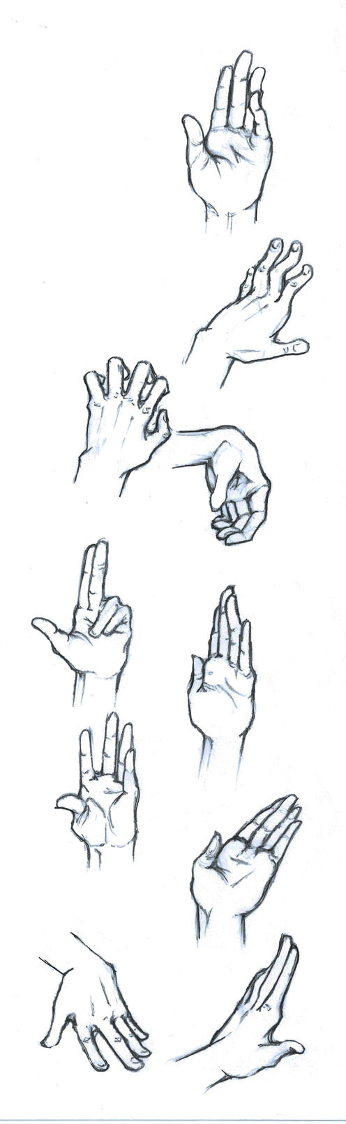 Hands Practice by SolaValko
