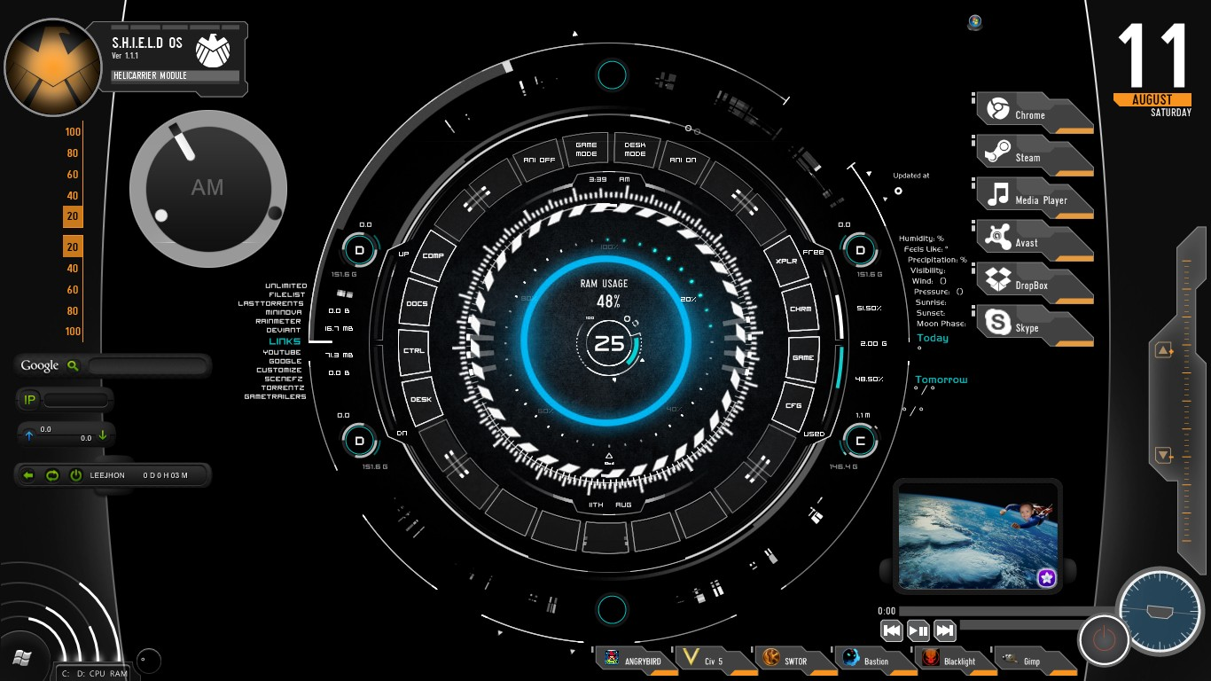 live galaxy wallpaper for windows 8