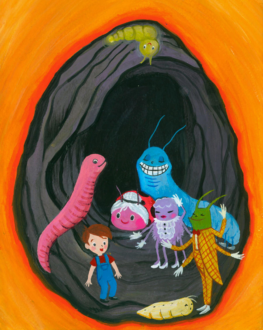 james and the giant peach miss spider book - photo #39