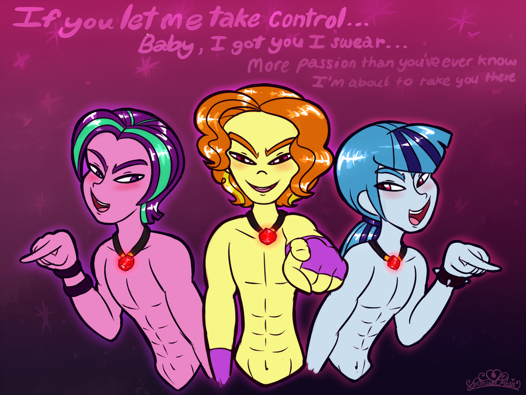 The Male!Dazzlings Will Take You There by PrincessCallyie