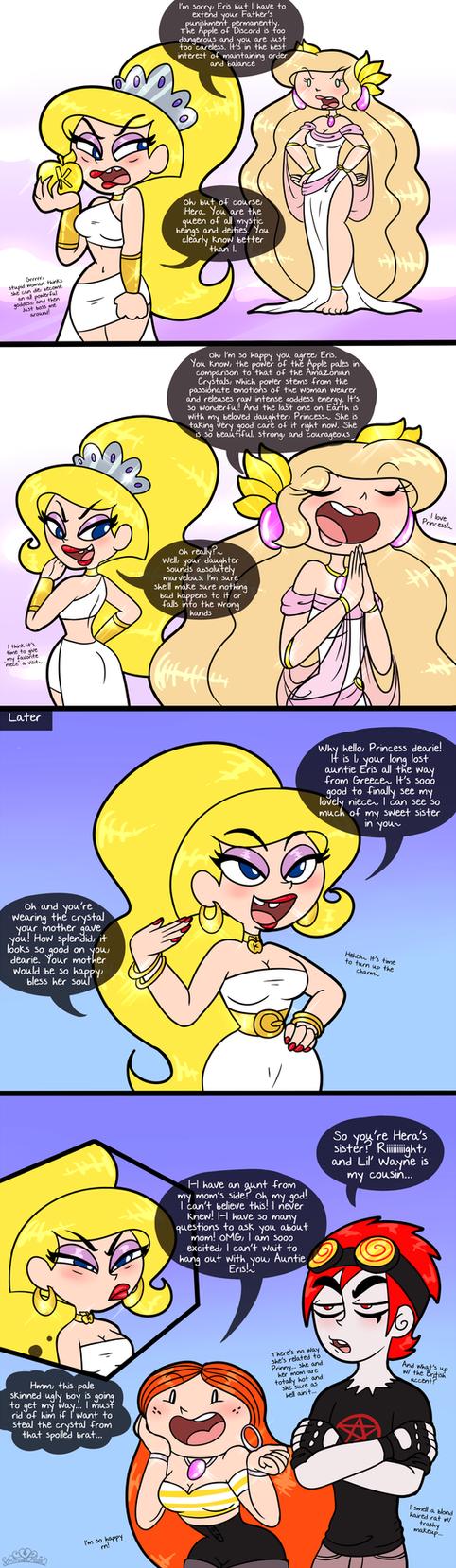 Goddess Family Reunion by PrincessCallyie
