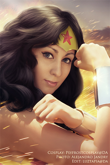 Lovely princess! Wonder Woman is back by AngelLiriel