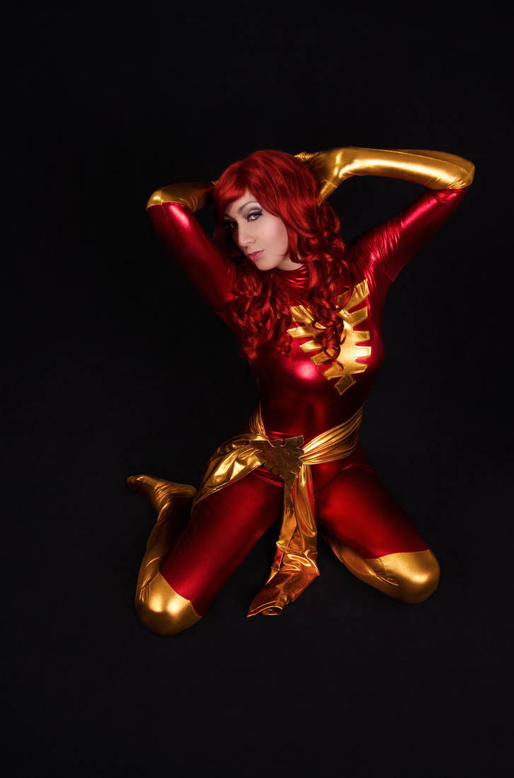 Dark Phoenix III by AngelLiriel