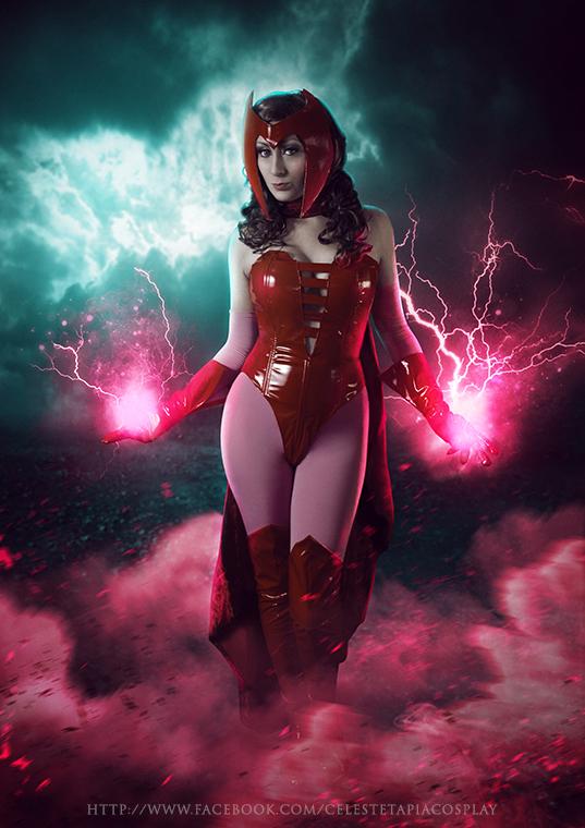 Powerful witch by AngelLiriel