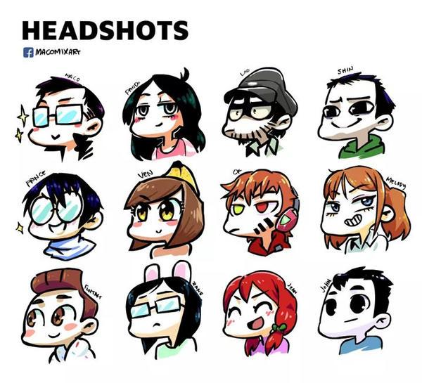 Headshot by macollado17