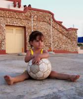 little girl by amadeelia