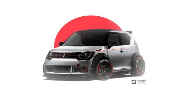 Suzuki Ignis | Digital Modification