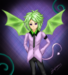 sombre veritas green purple