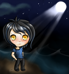 Moonbathing