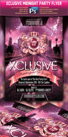 Xclusive Midnight Party Flyer