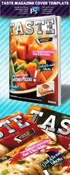 Taste A4 Magazine Cover Template by squizmo
