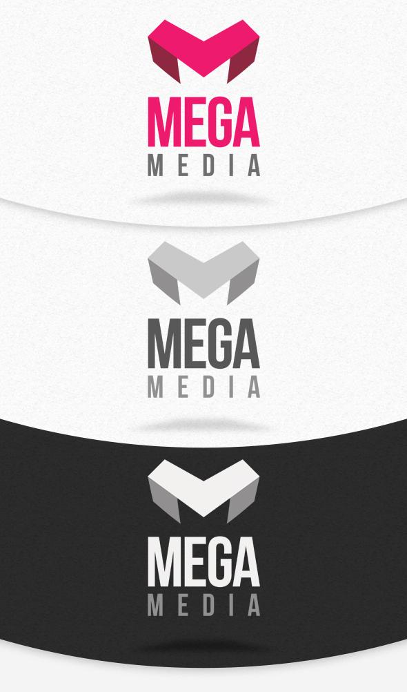 mega media logo template psd by squizmo on deviantart. Black Bedroom Furniture Sets. Home Design Ideas