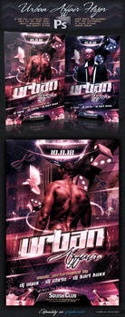 Urban/Black Affair Flyer