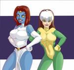 Mystique and Rogue