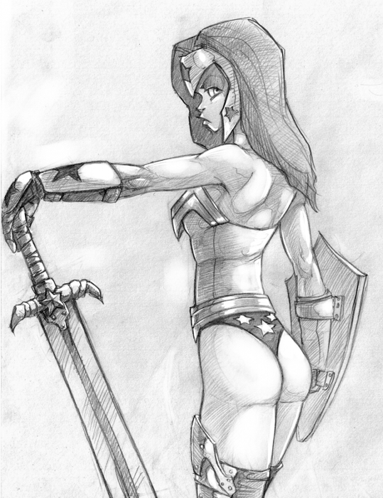 WW scetch by Flick-the-Thief
