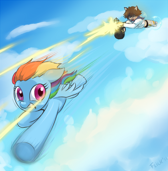 air fight by Flick-the-Thief
