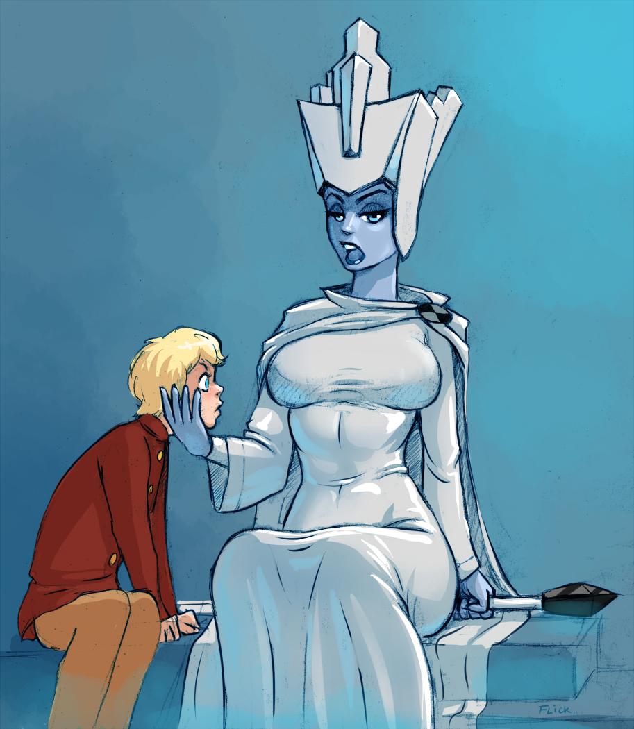 это карина секс снежной королевы с каем неё