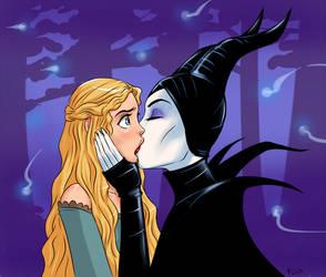 Maleficent X Aurora Deviantart Gallery