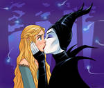 The kiss of the true love