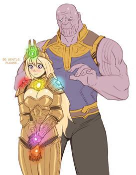 Infinity Gauntlet-chan