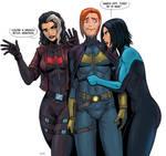 Earth 11  batfamily