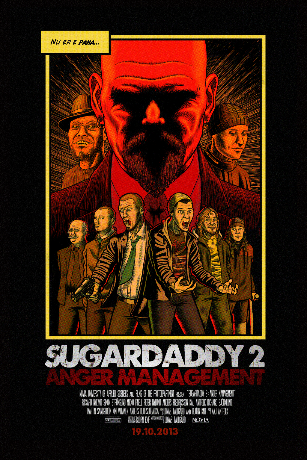 Sugardaddy 2-Theatrical Poster by BenjaminForsell