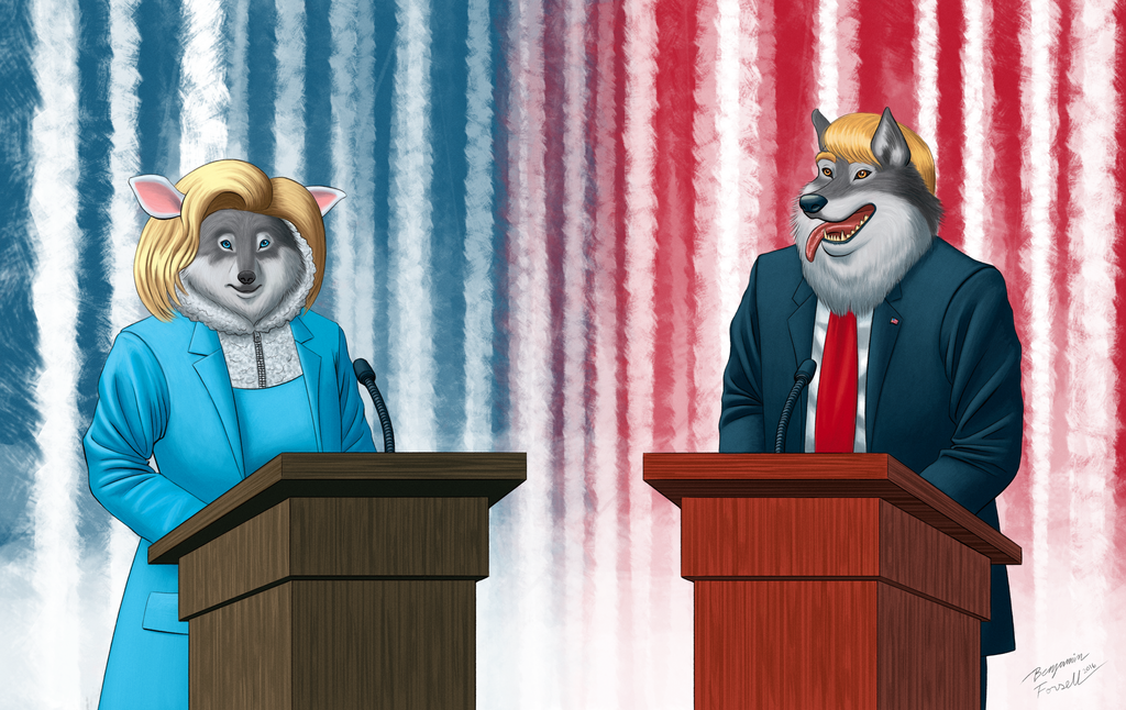 2016 Election Cartoon by BenjaminForsell