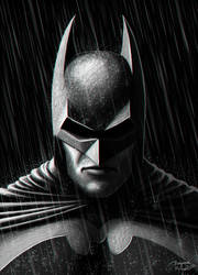 Dark Knight by BenjaminForsell