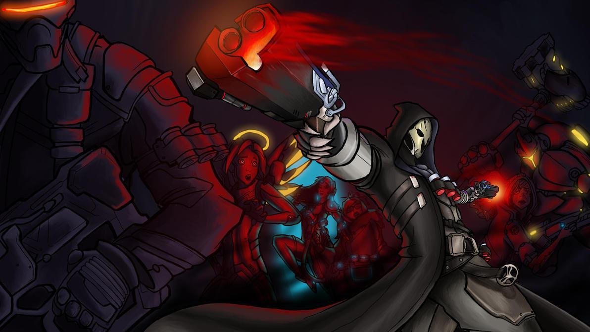 Reaper of Legends - Lucian Splash Art Parody by ...