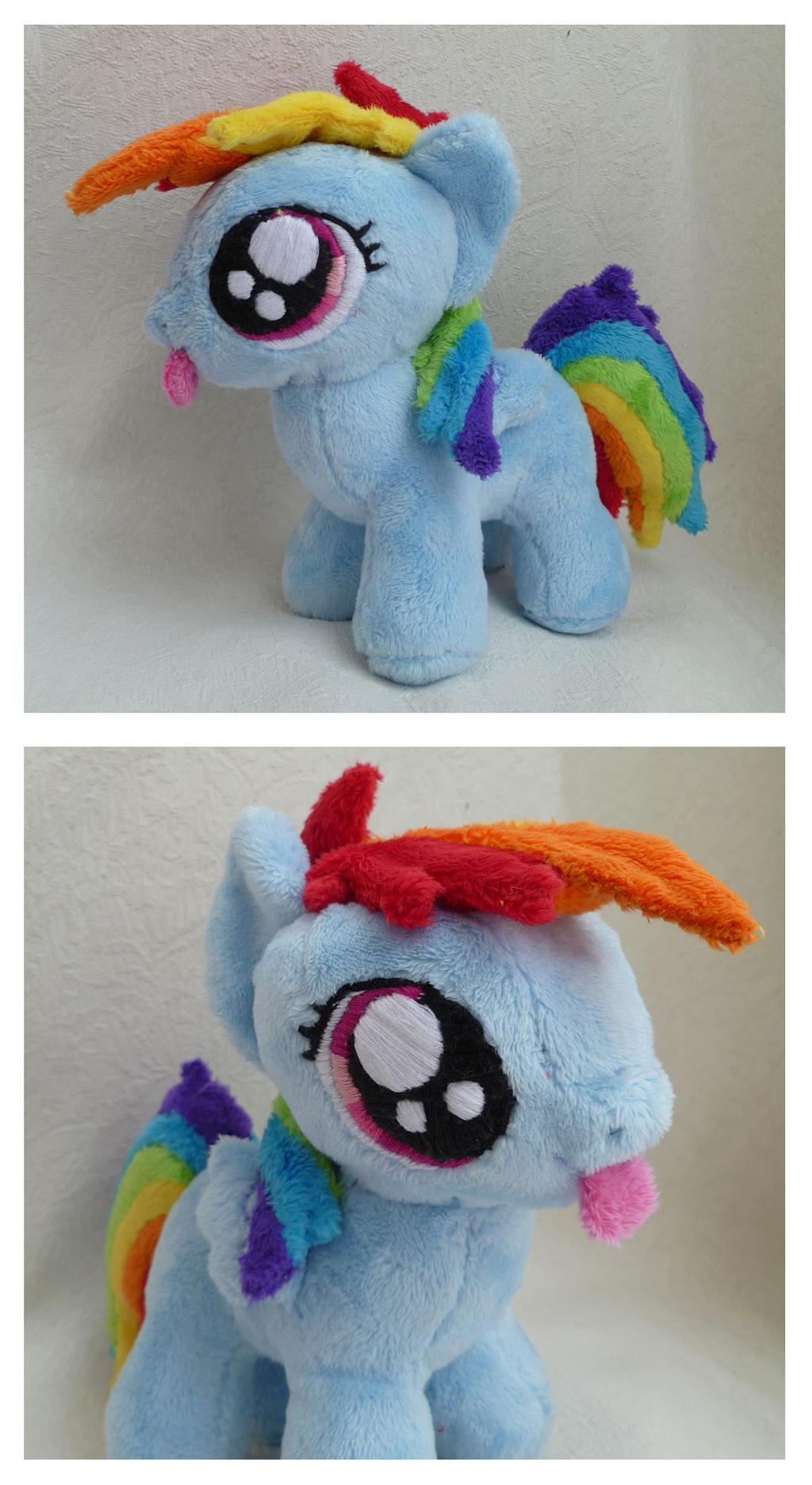 Rainbow Dash Filly by caashley