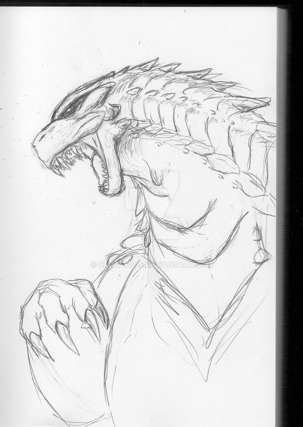 'BearGoji' sketch by DR-Studios