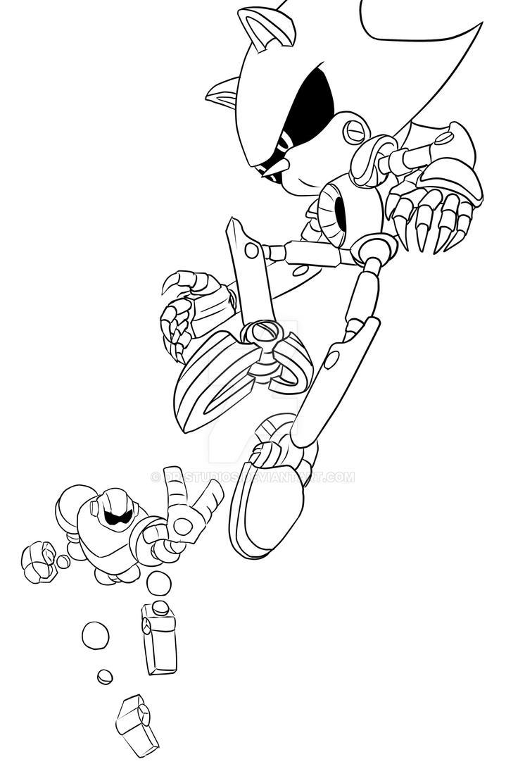 Vectorman vs Metal Sonic WIP by DR-Studios