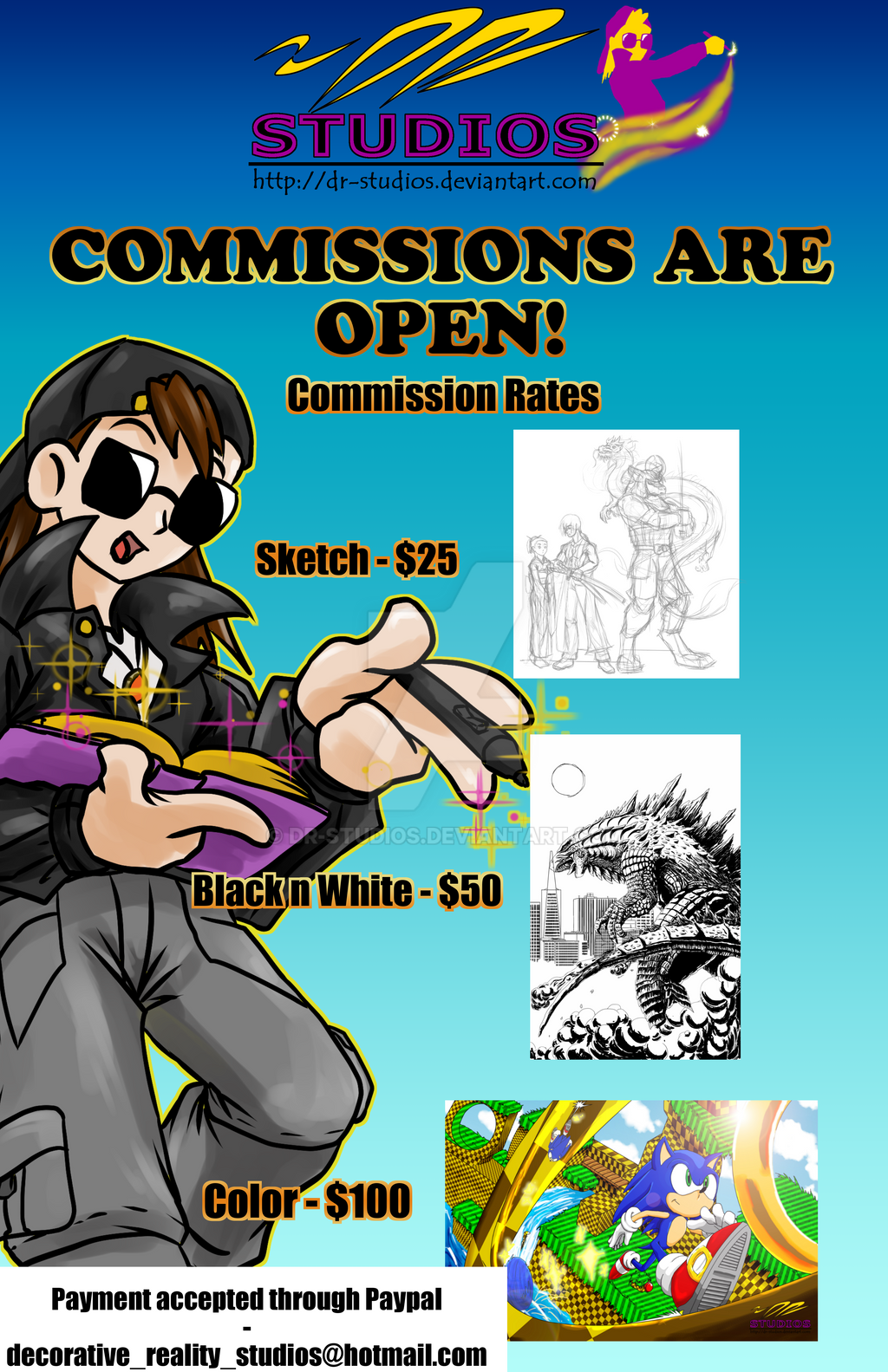 Commission Rates by DR-Studios