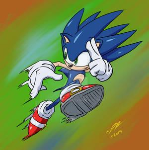 Sonic Quick Sketch 2