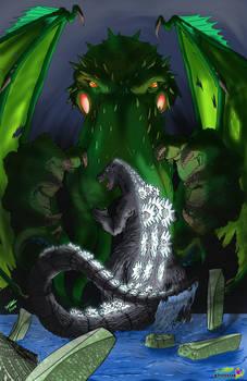 COM - Godzilla vs Chthulu