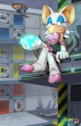 Rouge in Security Hall
