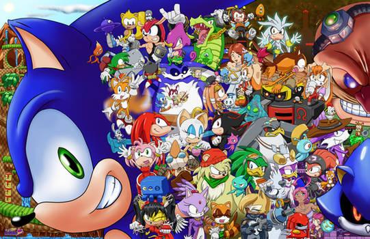 Sonic the Hedgehog 30th Anniversary.