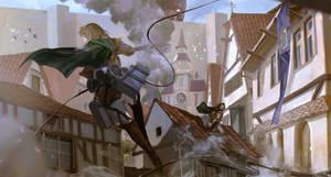 Attack On Titan Fan Art