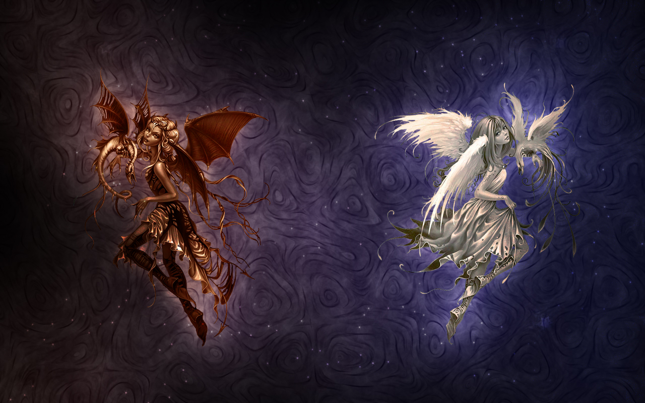 Мистический тест: Кто ты — Ангел или Демон?