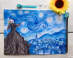 Inspired by the work: Starry Night (Van Gogh)