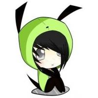 Cute Emo Kid in Gir Costume by DarkSpirit1