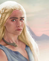 Daenerys Targeryn by paisleypaints