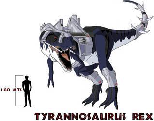 Dino Riders Tyrannosaurus Rex by AtlasMaximus