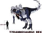 Dino Riders Tyrannosaurus Rex