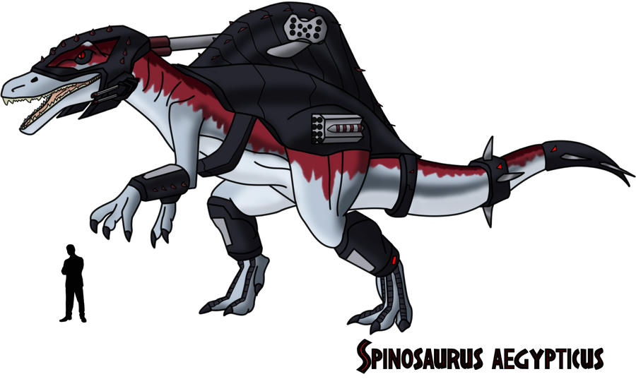 Dino Riders Spinosaurus by AtlasMaximus