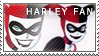 Harley Quinn Stamp by AtlasMaximus