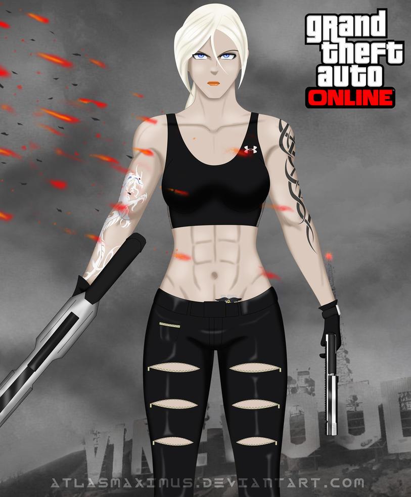 Sigrid Lindstrom in GTA Online by AtlasMaximus