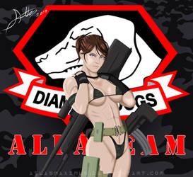 Metal Gear Solid V Flaming Buffalo by AtlasMaximus