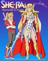 She-Ra and The Princesses of Power by AtlasMaximus