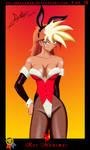Bunny Girl Card 1 Kei by AtlasMaximus